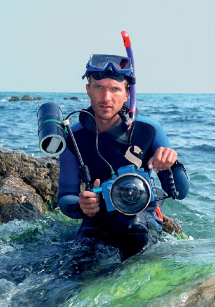 Підводний фотограф — Андрій Некрасов