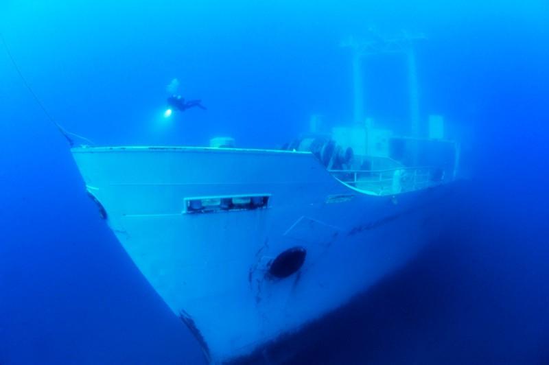 Штучне затоплення корабля «Генерал Хойт С. Ванденберг»