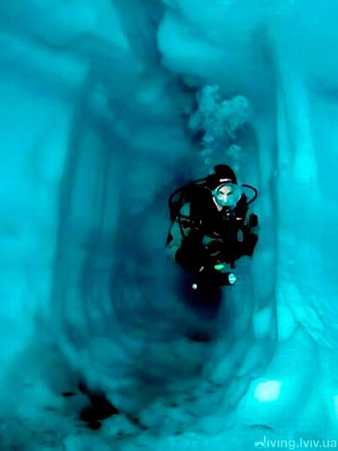 Ice diving (айс дайвінг)