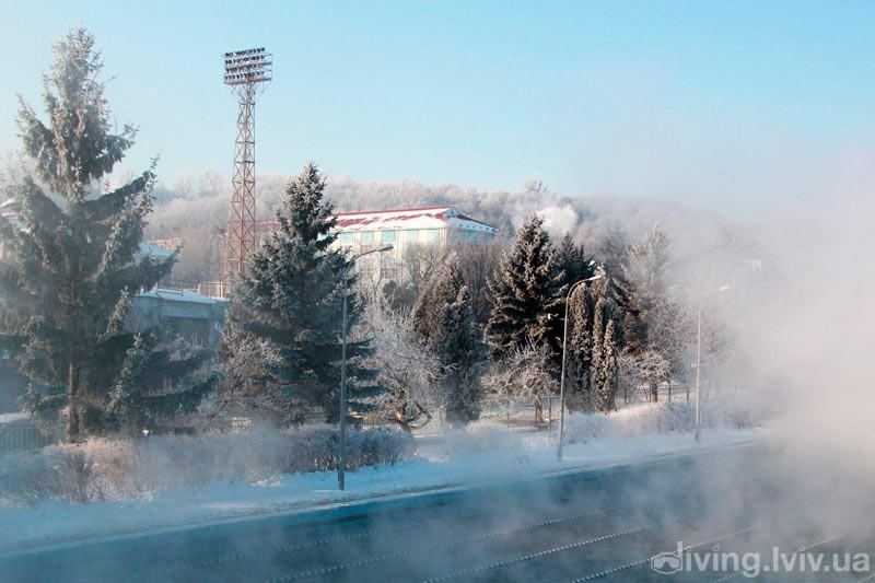 Басейн СКА взимку
