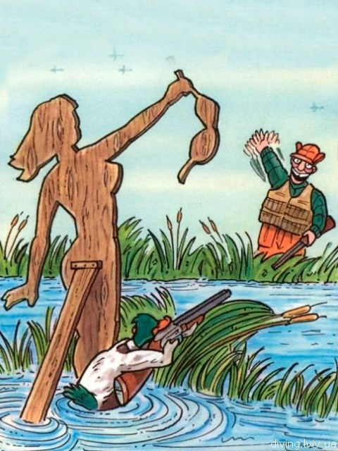 прикольные картинки про охоту:
