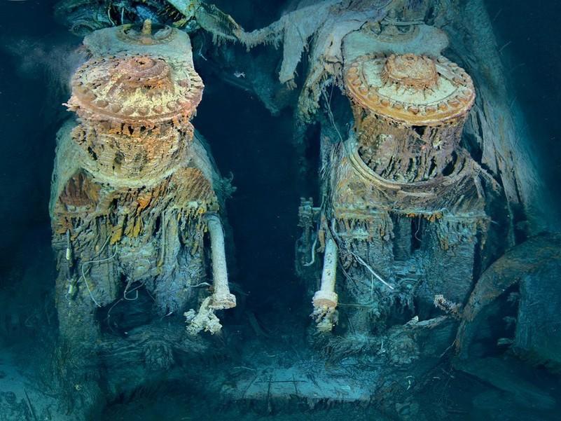 Два двигуни «Титаніка»