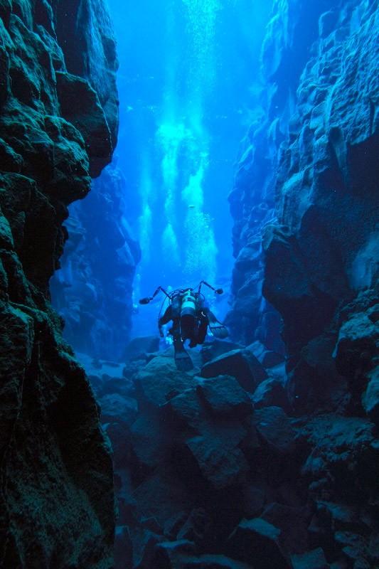 Волл-дайвінг вздовж ущелини Сільфра