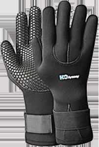 Неопренові еластичні п'ятипалі рукавички