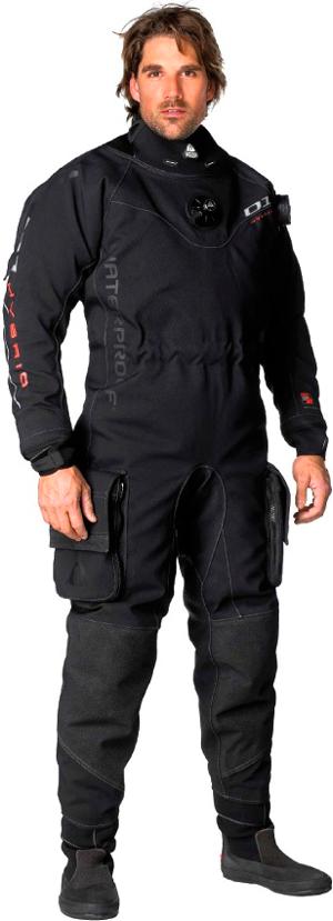 Сухий гідрокостюм Waterproof D1 Hybrid Drysuit