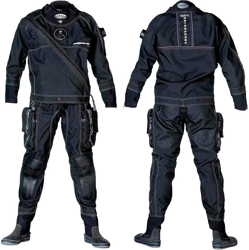 «Сухий» костюм для дайвінгу