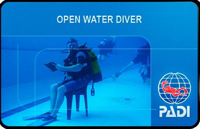 Сертификат PADI Open Water Diver