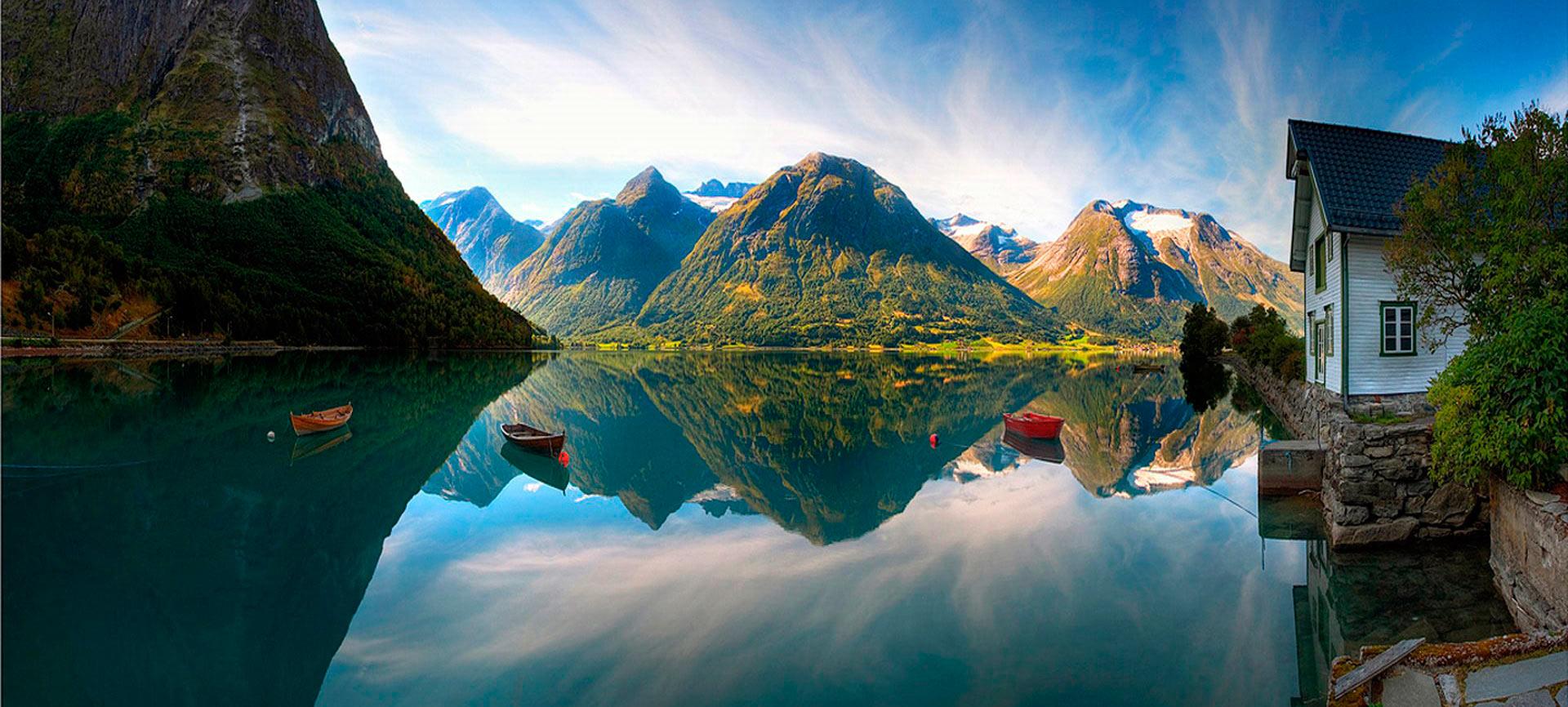 Дайвінг в Норвегії