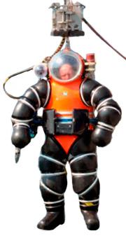 «Важкий» водолазний костюм