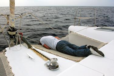 Синдром заколисування або морська хвороба