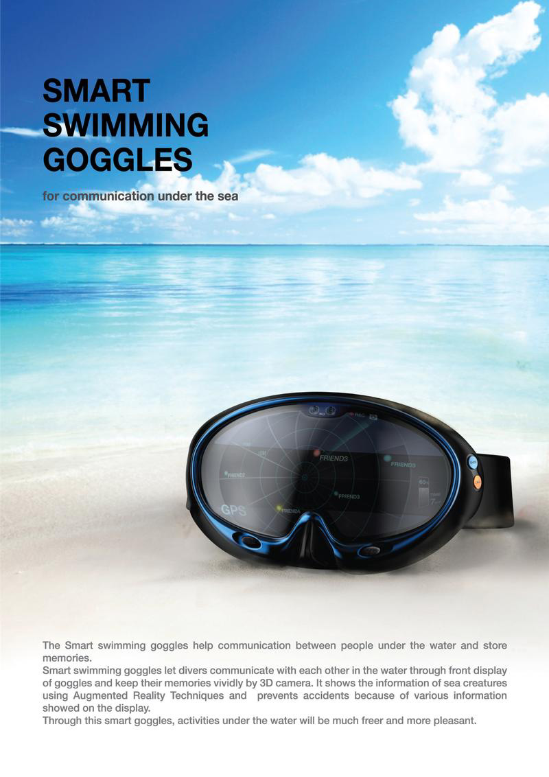 Маска Smart Swimming Goggles