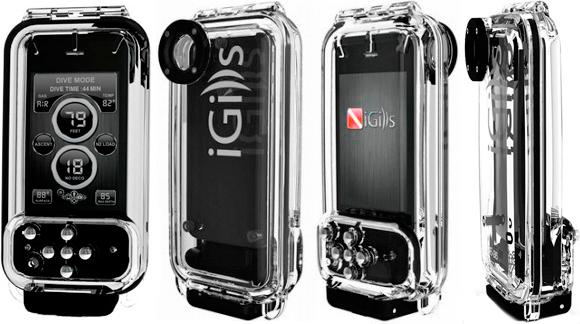 Підводний бокс iGills SE-35 для iPhone