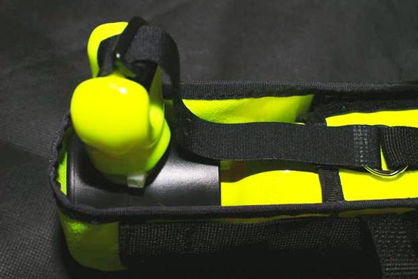 Резервний дихальний пристрій у зібраному вигляді